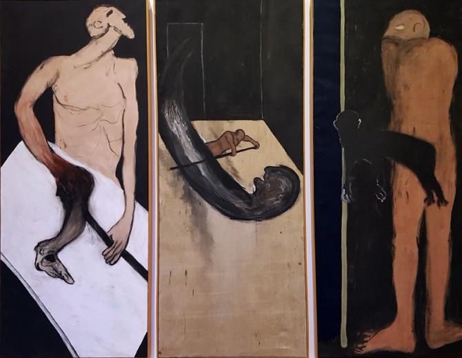 Max Neumann. Bilder und Papierarbeiten der 80er und 90er Jahre