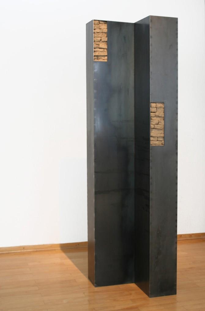 ueber Eck, 300x75x75cm