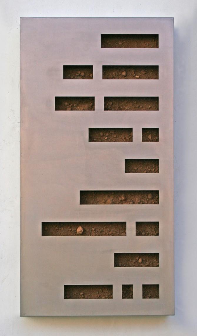 Kein Gedicht , Maerz 2015, 95 x 50 x 10 cm